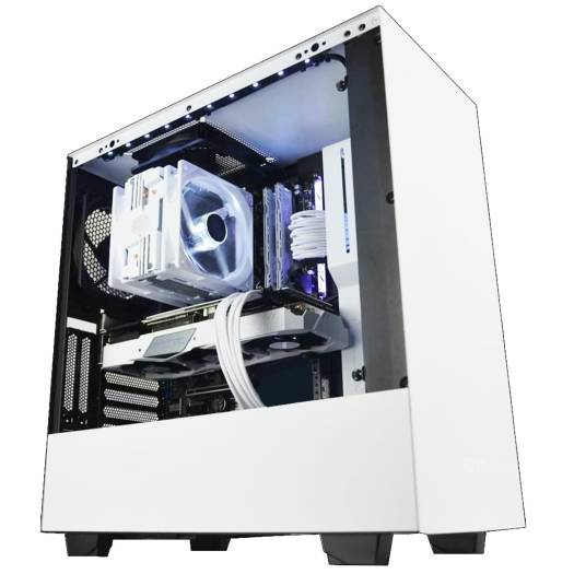 ABS High-End CUSTOM Gaming PC For FORTNITE , GTA , best in Streaming high FPS games( Core I5 11400 , RTX 3060 XC Edition 12GB Graphics, 16GB(8*8) RAM RGB,1TB NVMe SSD + 1TB HDD , 700W Certified PSU )