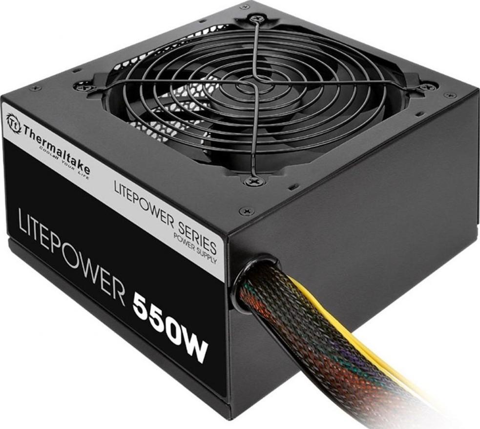 Thermaltake Litepower 550W - Non Modular, ATX 2.3 & EPS, A-PFC, 12cm,