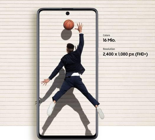 Samsung Galaxy A71 Smartphone, 8GB, Black, UAE Version | SM-A715FZKGXSG