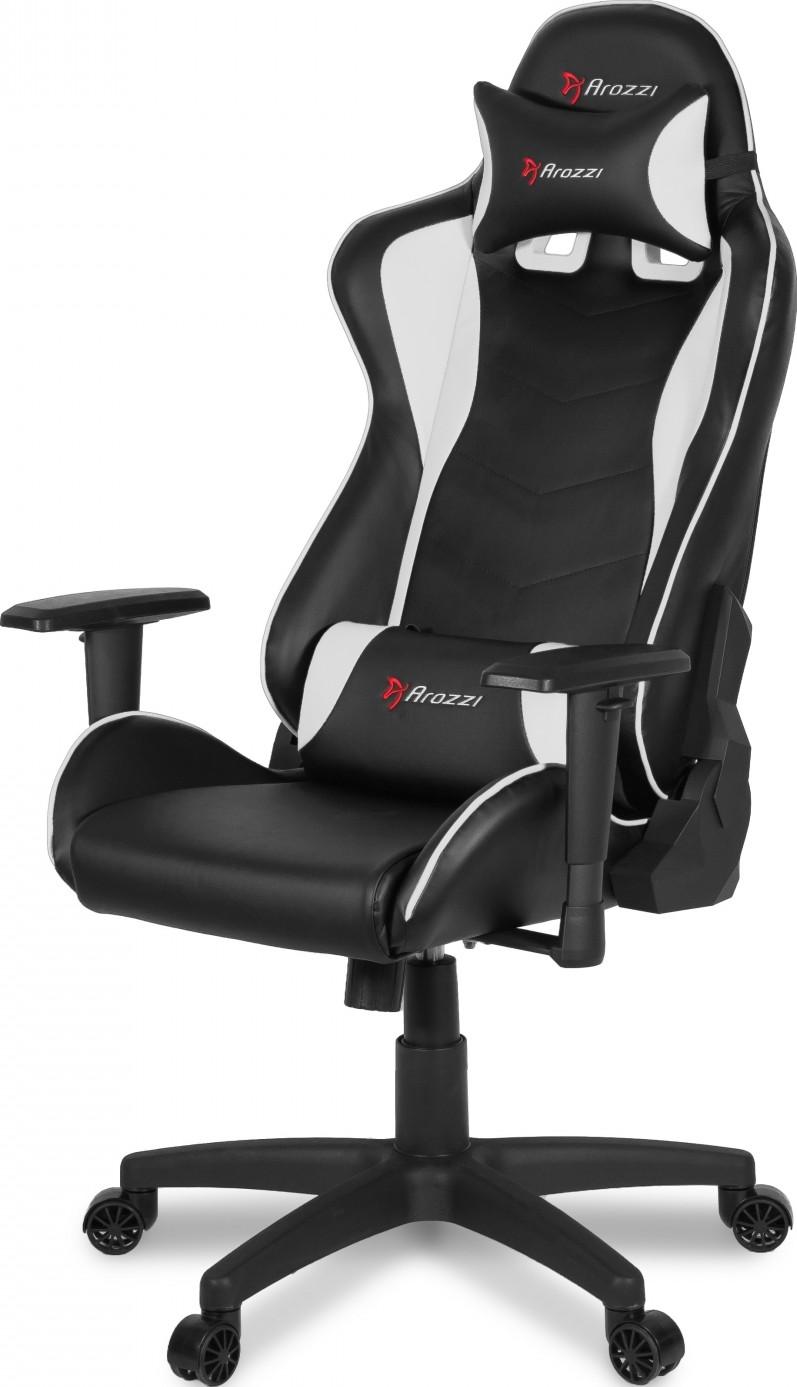 Super Arozzi Mezzo V2 Gaming Chair Fabric White Mezzo V2 Fb White Inzonedesignstudio Interior Chair Design Inzonedesignstudiocom