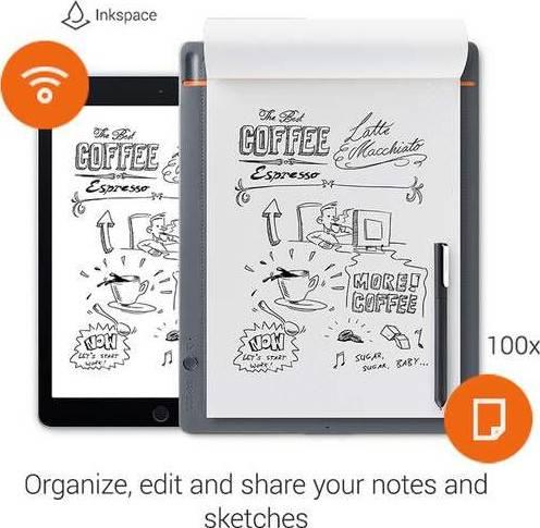 Wacom Bamboo Slate Smartpad, (Large)   CDS-810S