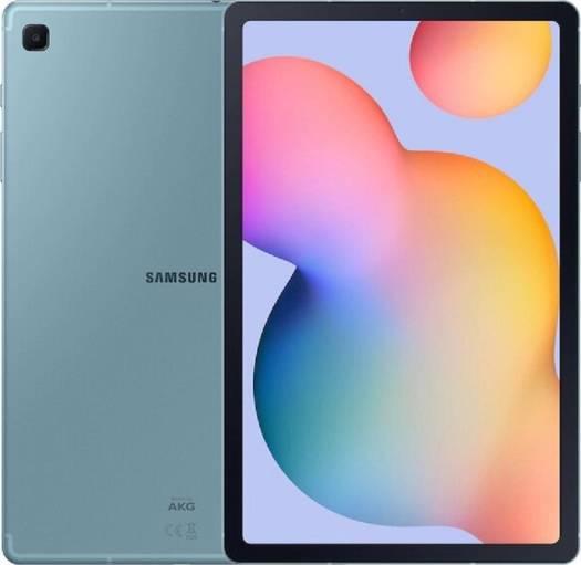Samsung Galaxy Tab S6 Lite With Pen, 64GB, 4GB RAM, Wi-Fi, UAE Version - Angora Blue   Galaxy Tab S6 Lite-Blu