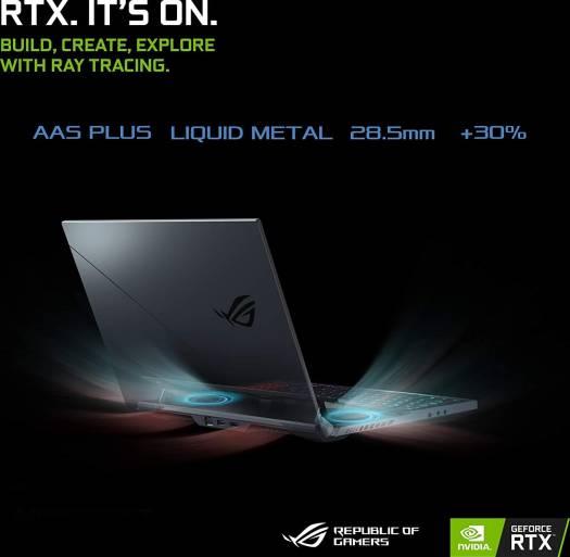 Asus ROG Zephyrus Duo 15 Gaming Laptop (Gray) - Intel i9-10980HK 2.4Ghz, 32GB RAM, 2048GB SSD,Nvidia Geforce RTX2080 Super 8GB, 15.6 inches UHD, Windows 10, Eng-Arb-KB | GX550LXS-HC055T
