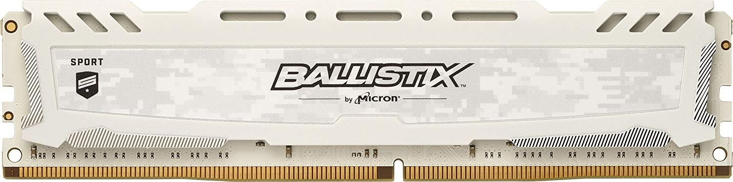 Crucial Ballistix Sport LT 16GB Single DDR4 2666 MT/s (PC4-21300) CL16