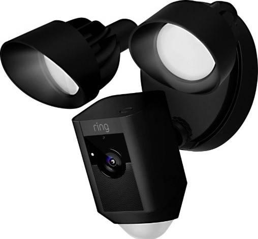 Ring Floodlight Camera, Motion Detector - Black   8SF1P7-BEU0