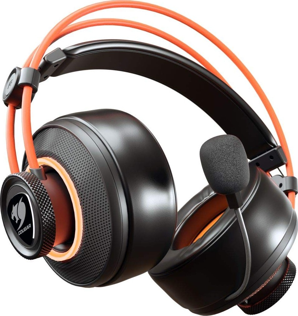 e768a6ebfcc Cougar Immersa Pro Ti Gaming Headset Ultimate 7.1 Virtual Surround and  Brilliant Lighting Effect USB and