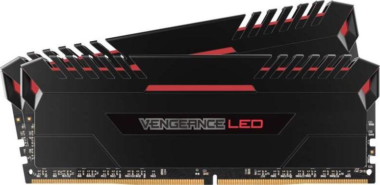 Image result for RAM DDR4 16GB/2666 CORSAIR VENGEANCE (2X8) RED LED - CMU16GX4M2A2666C16R