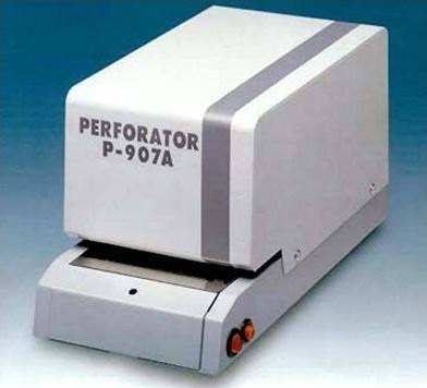 Plus Electric Document Perforator | P-907 A