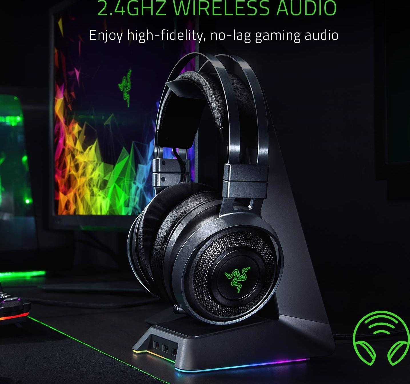 Razer Nari Ultimate: Thx Spatial Audio 2.4Ghz Wireless