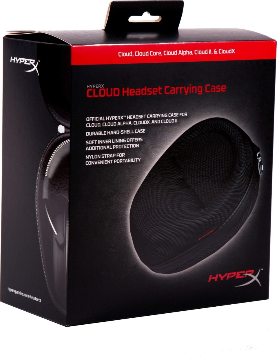 3060f2cac26 Kingston HyperX Cloud Headset Carrying Case (Black) | HXS-HSCC1/EM ...