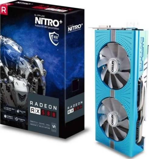 Sapphire NITRO+ Radeon RX 580 8GB GDDR5 256-bit HDMI/DVI-D/DP Special Edition Graphics Card | 11265-21-20G