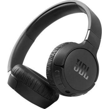 JBL Tune 660NC Wireless On-Ear Active Noise-Cancelling Headphones, Black | JBLT660NCBLK