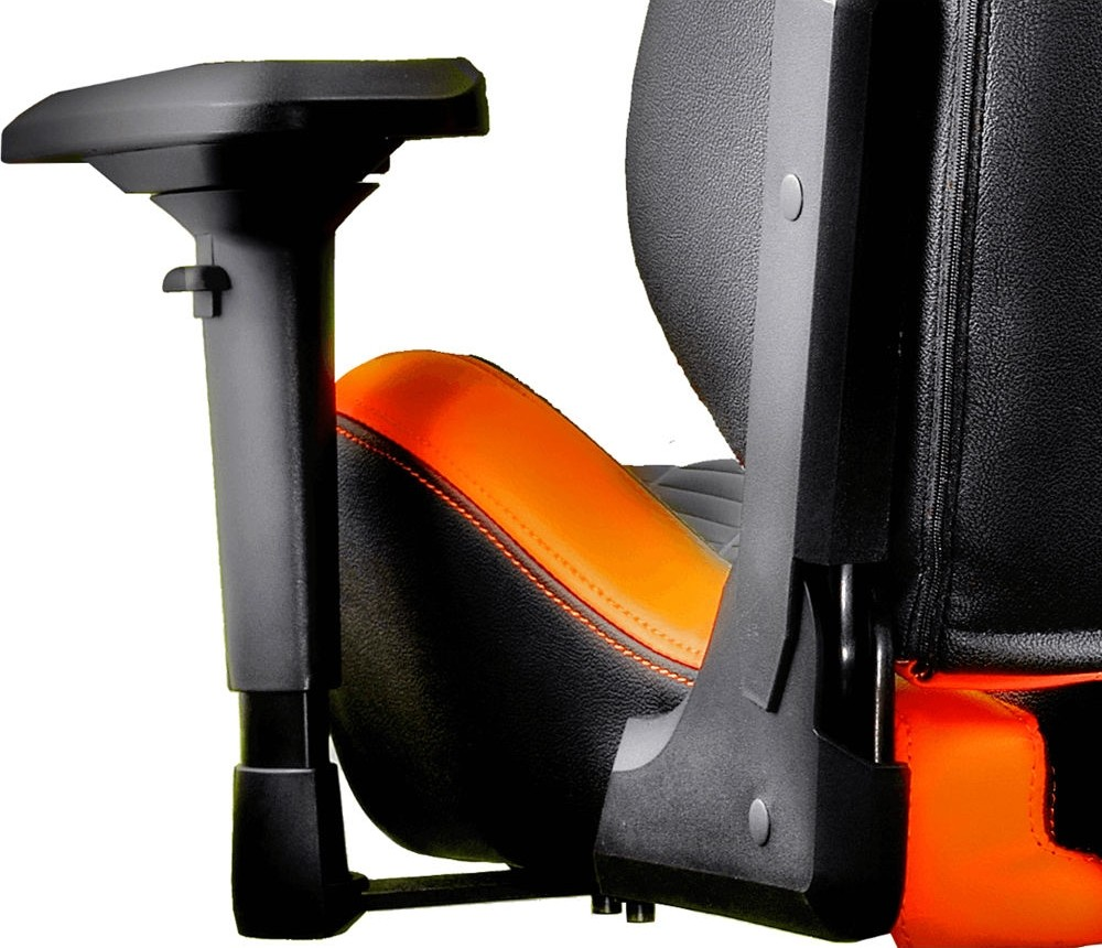 Cougar Armor S Gaming Chair Black And Orange Cg Chair