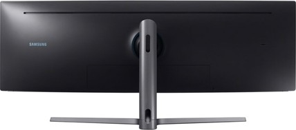 Samsung 49 Inch LC49HG90 QLED Gaming Monitor with Super Ultra Wide Screen  and metal Quantum Dot tech
