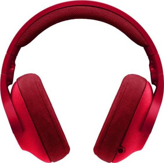 Logitech G433 7.1 Wired Surround Gaming Headset (Fire Red)   981-000652