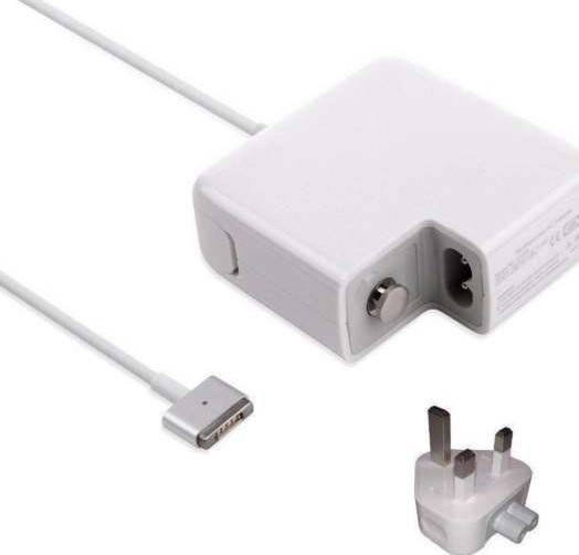 Replacement Magsafe 2 (Type T) 60W Power AC Adapter for Apple Macbook Laptop (16.5V 3.65A)
