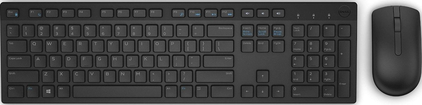 dell km636 wireless keyboard and mouse combo black km636 buy best price in uae dubai abu. Black Bedroom Furniture Sets. Home Design Ideas