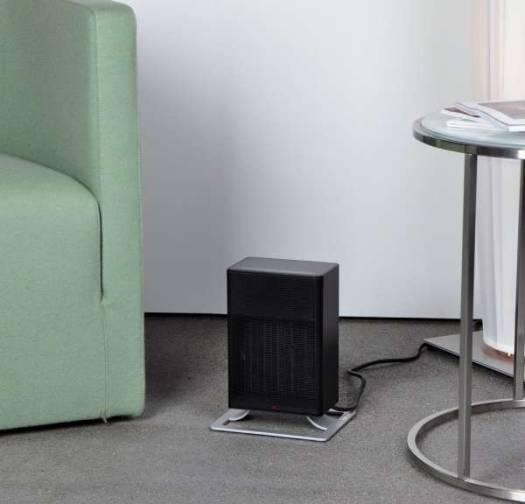 Stadler Form  Anna Little Ceramic Fan Heater 700W to 1,200W -  Black | A-031E