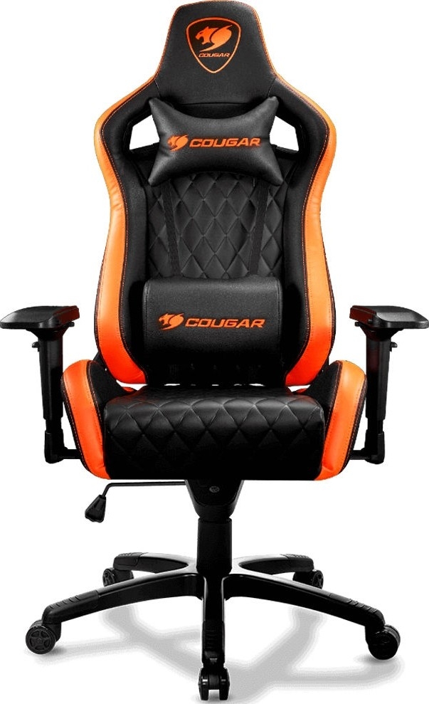 Groovy Cougar Armor S Gaming Chair Black And Orange Cg Chair Armor S Blk Machost Co Dining Chair Design Ideas Machostcouk