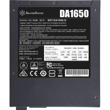 SilverStone DA1650 Gold, 80 PLUS Gold 1650W Power Supply, Fully Modular, ATX | SST-DA1650-G