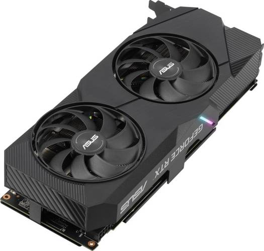 ASUS Dual GeForceRTX 2060 SUPER EVO OC edition, 8GB GDDR6, CUDA Core 2176, Memory Interface 256-bit, 1x HDMI, 2x DisplayPort, 1x DVI, PCI Express | DUAL-RTX2060S-O8G-E
