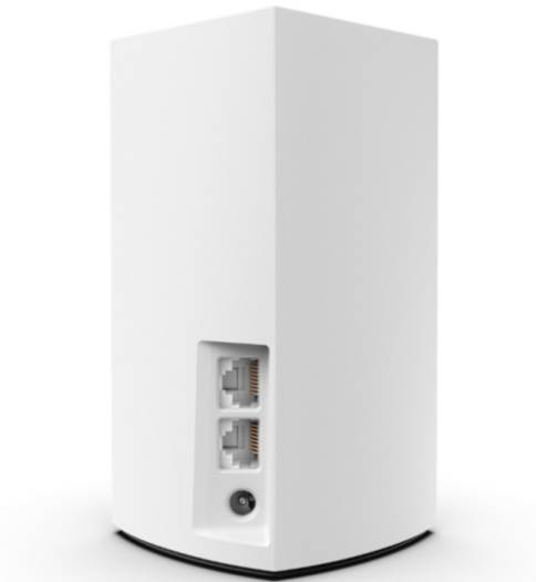 Linksys Velop VLP0102 Intelligent Mesh WiFi System (AC2400), Wi-Fi Router or Wi-Fi Extender, Dual-Band, 2.4Ghz + 5GHz, 3000 sq ft,Parental Controls, Compatible with Alexa, 2-Pack - White I VLP0102