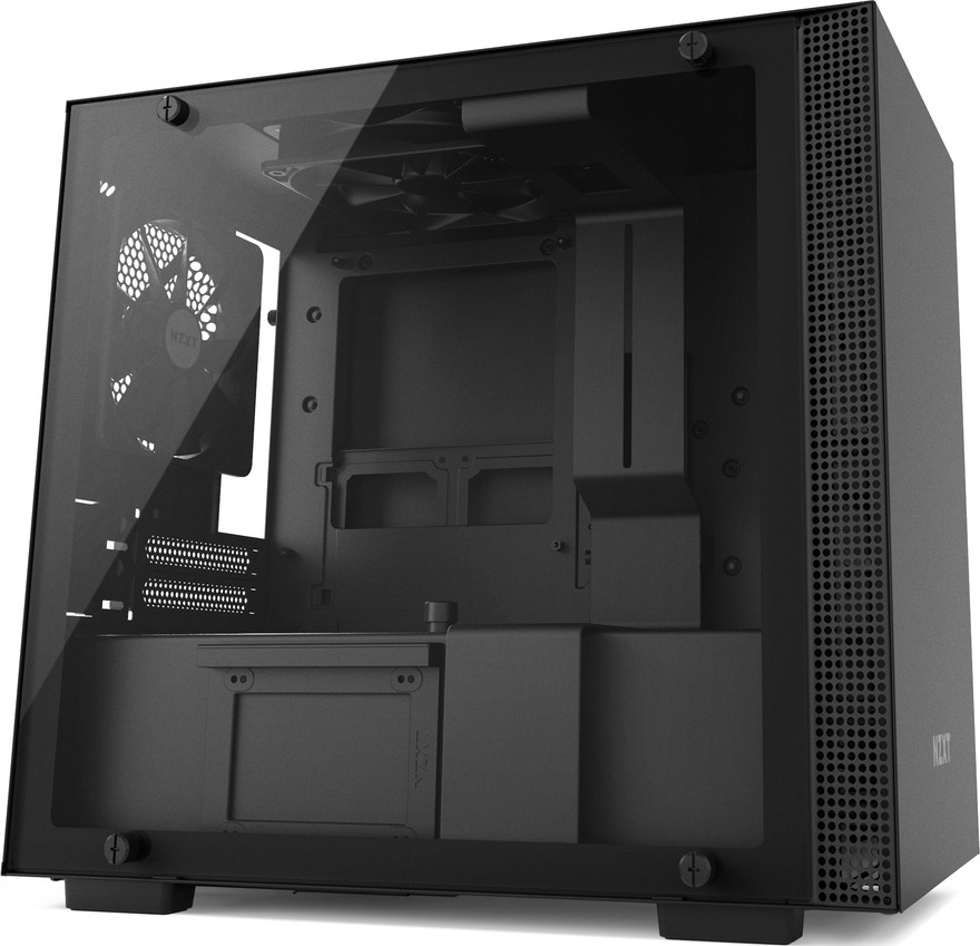 NZXT H200 Mini-ITX - Tempered Glass Window - Compact PC Gaming Case -