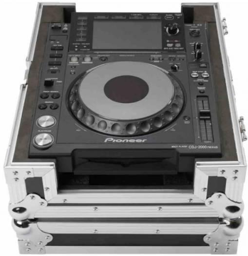 Magma CDJ/Mixer Hardcase, Inner measures: 41 x 33 x 7 cm, black / silver | 40974 - CDJ/Mixer Hardcase