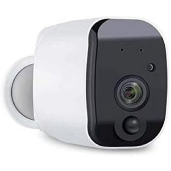 Premax WiFi IP Bullet Camera Outdoor Battery 90 Days Support - White   PM-PN900