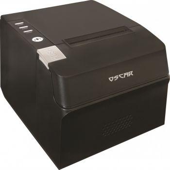 Oscar POS88C 80mm Thermal Bill POS Receipt Printer USB with Auto-Cutter & Kitchen Beep, ESC/POS Support - Black   MRPOSC87600UB