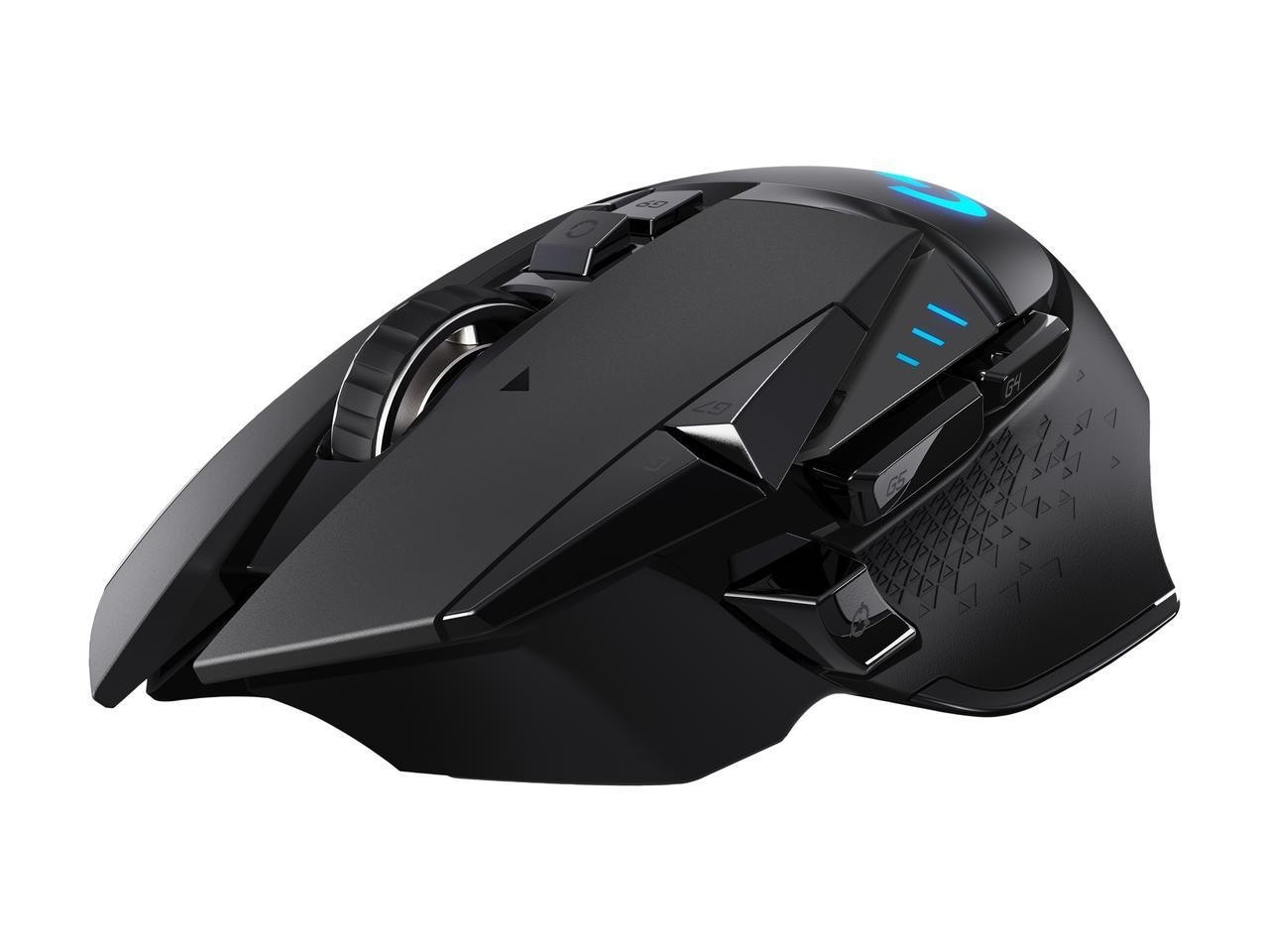 Logitech G502 LIGHTSPEED Wireless Gaming Mouse With HERO Sensor And Tunable  Weights, With Up To 16,000 Dpi, Net-gen HERO 16K Sensor, 11 Customizable