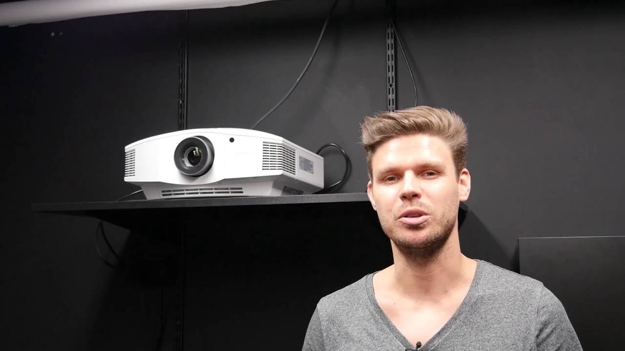 Sony Vpl Hw45 Full Hd Home Cinema Projector Project