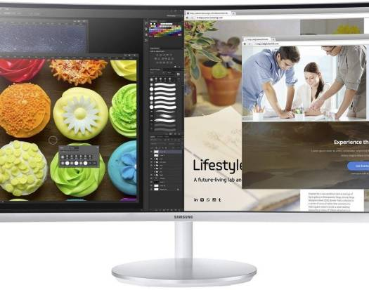 "Samsung 34"" Thunderbolt™ Curved Monitor with 21:9 Wide Screen 