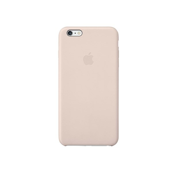Apple Leather Case for Apple iPhone 6 and 6s Plus Soft Pink MGQW2