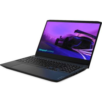 "Lenovo IdeaPad Gaming 3 15.6"" Full HD IPS Laptop, Intel Core i7 11370H, 8GB RAM, 1TB HDD + 256GB SSD, 4GB Nvidia Geforce GTX 1650, Windows 10, Shadow Black   82K10004US"