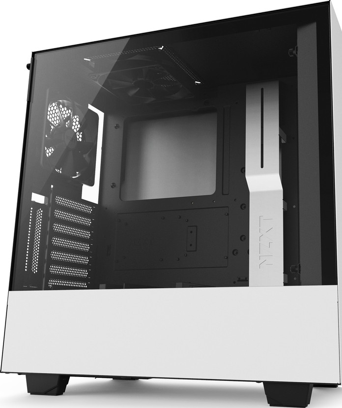 NZXT H500i ATX Mid Tower - Tempered Glass Window - Compact PC Gaming C