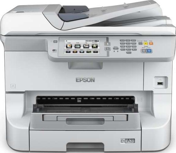 Epson WF 8590DWF WorkForce Pro A3+ Colour Multifunction Inkjet Printer WF  8590DWF