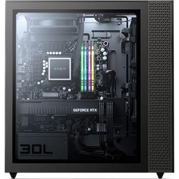 HP Omen 30L GT13-0380T Desktop - 10th Gen Intel Core i7-10700K, 16GB RAM, 1TB + 512GB SSD, Nvidia GeForce RTX 3090 24GB GDDR6, Windows 10 - Black   2H4A2AV_1