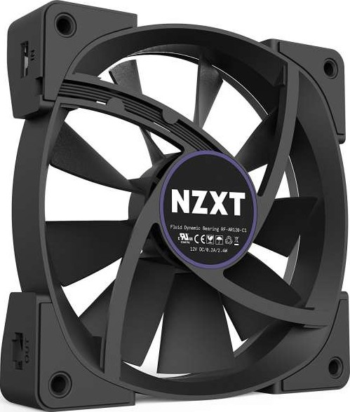 Nzxt 140mm Aer Rgb Led Fans For Hue Triple Pack