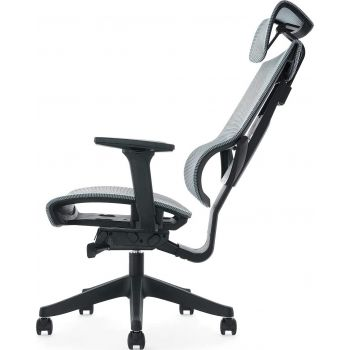 Aero Mesh Ergonomic Chair, Premium Office & Computer Chair with Multi-adjustable features by Navodesk - Space Blue   AERO-MESH-SPBL