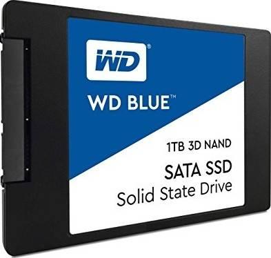"""WD 1TB Blue 3D NAND PC SSD - SATA III 6 Gb/s 2.5""""/7mm Solid State Drive - WDS100T2B0A"""