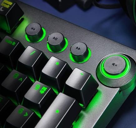 Razer BlackWidow Elite RGB Mechanical Gaming Keyboard, Yellow Switch , With  Razer Chroma RZ03 0262