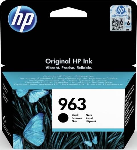 HP 963 Black Original Ink Cartridge (Standard Yield : 1000 pages) | 3JA26AE