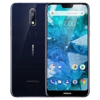 Nokia 7.1 Dual SIM 32GB 4G LTE - Gloss Midnight Blue | N18881008A