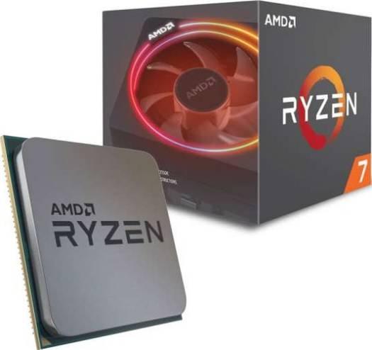 AMD Ryzen 7 2700X  8-Core Socket AM4 4.3GHz Desktop CPU Processor with Wraith Prism Cooler | YD270XBGAFBOX