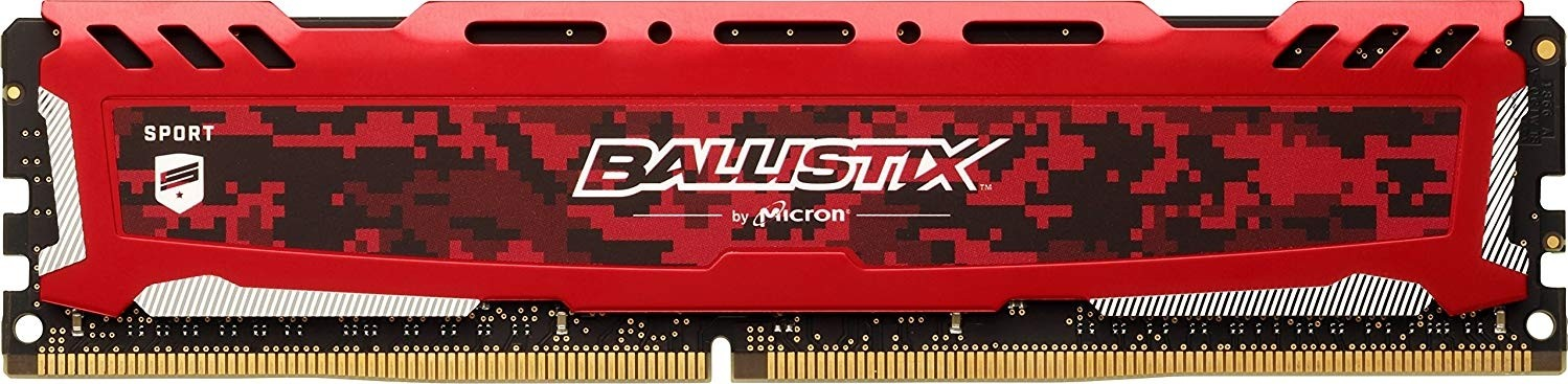 Crucial Ballistix Sport LT 8GB Single DDR4 2666 MT/s (PC4-21300) CL16