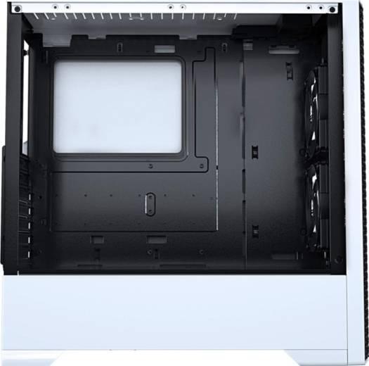 Phanteks MetallicGear Neo Air ATX Mid-Tower Case, High Airflow Mesh Front Design, 2X 120 RGB Skiron Fans, RGB Controller - White   MG-NE520A_BW01