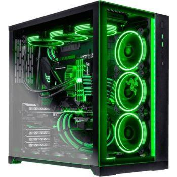 Extreme Custom Gaming PC with High END Graphics(RTX 3090 GAME ROCK 24GB,Intel 11th Gen Core i9-11900,RGB 64GB RAM (4 x 16GB)3200MHz,2TB HDD+1TB SSD+1TB M.2,Liquid COOLING 360MM)