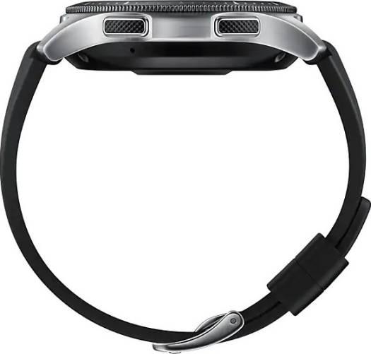 Samsung SM-R800NZSAXSG Galaxy Watch Gear 4, 46mm,  Super AMOLED display, Tizen operating system, Silver | SM-R800NZSAXSG