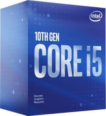 Intel Core i5-10400F, Up to 4.3 GHz, Six-Core LGA 1200, No Graphics Chipset | BX8070110400F
